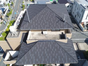 豊橋市 S様邸 屋根塗装事例