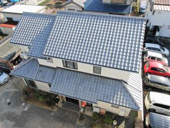 豊川市 T様邸 屋根葺き替え事例