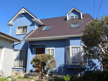 豊橋市 S様邸 屋根カバー・外壁塗装事例